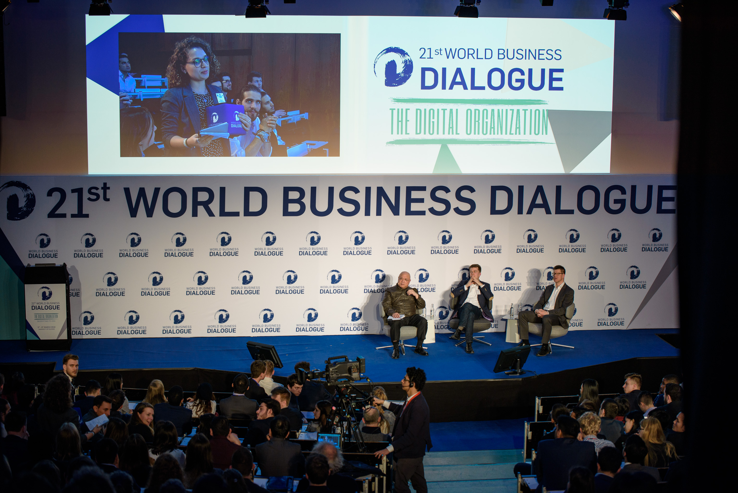 World Business Dialogue 2018 Bühne Köln